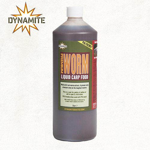 Premium Worm Liquid Carp Food